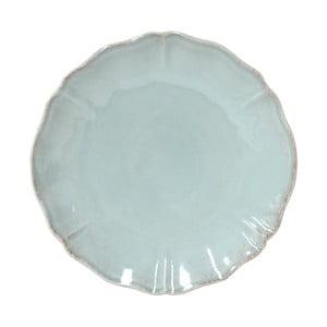 Tyrkysový kameninový tanier Costa Nova Alentejo, ⌀ 27 cm