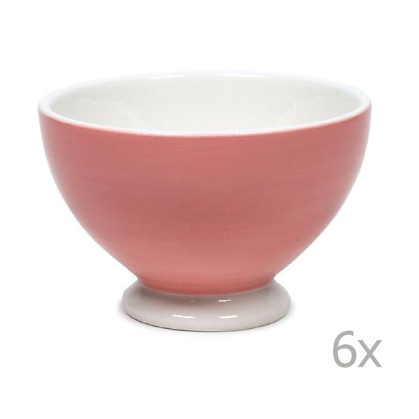 Sada 6 misiek Puck 14.5 cm, ružová