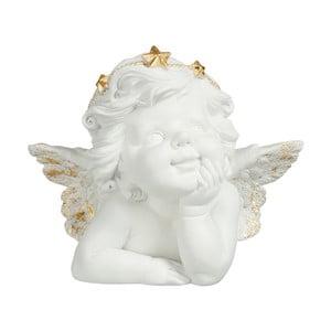Dekoratívny anjeliček J-Line Loreta