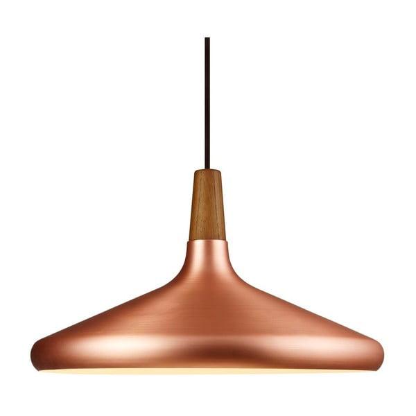 Závesné svietidlo Float 27x39cm, medené
