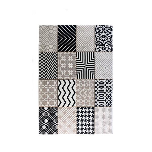 Sivý koberec La Forma Spiros, 160x230 cm
