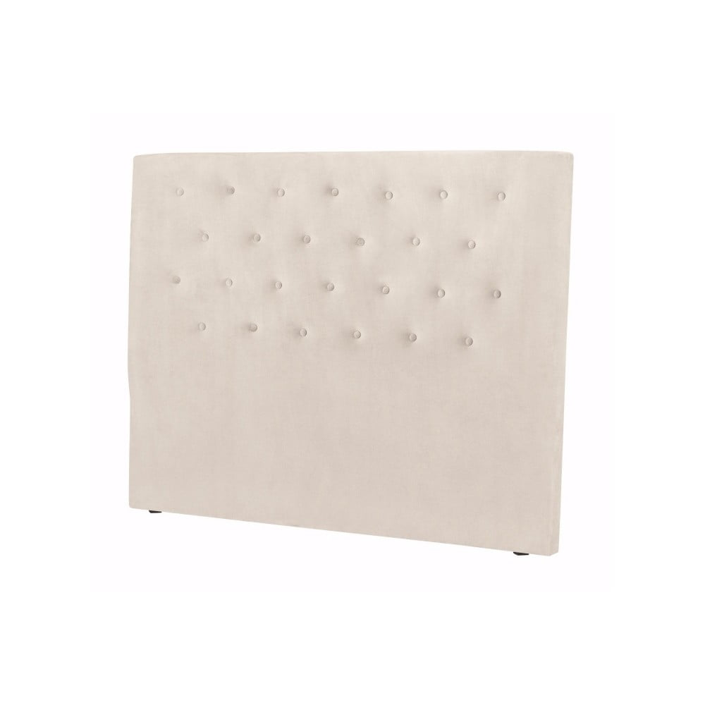 Krémovobiele čelo postele Windsor & Co Sofas Astro, 180 × 120 cm