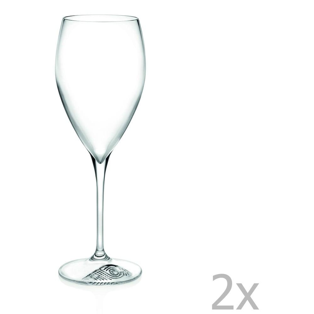 Sada 2 pohárov na víno RCR Cristalleria Italiana Micheline, 330 ml