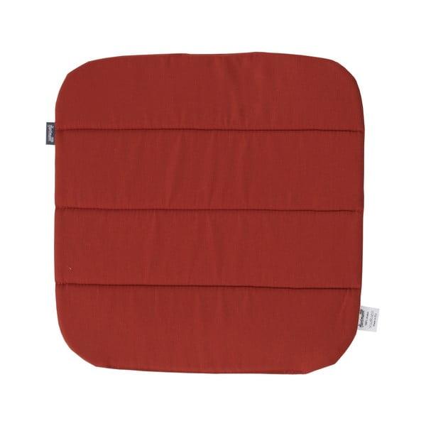 Červený protišmykový záhradný vankúš na sedenie Hartman Sophie, 40 × 40 cm