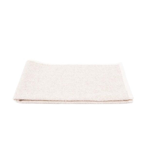 Sada 2 krémových froté uterákov Casa Di Bassi Stripe, 50 x 70 cm