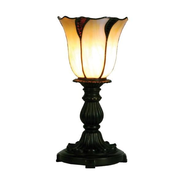 Tiffany stolová lampa Lotus