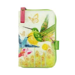 Peňaženka na zips Tropical Hummingbirds