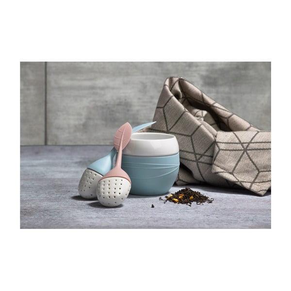 Sitko na čaj Lístoček, staroružový