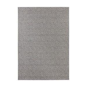 Sivý koberec vhodný aj do exteriéru Elle Decor Bloom Croi×, 160 x 230 cm