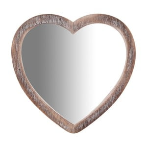 Zrkadlo v tvare srdca Biscottini Heart