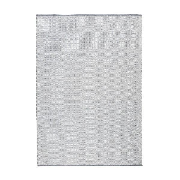 Koberec Calvino White/Grey, 120x180 cm