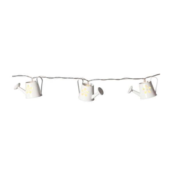 Svetelná reťaz Watercan 140 cm, biela