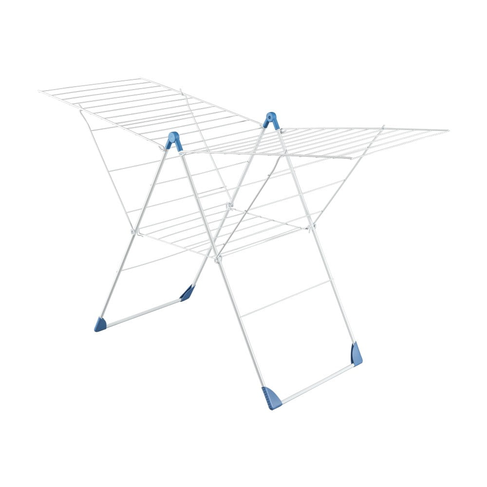 Modrý sušiak na bielizeň Metaltex Vento