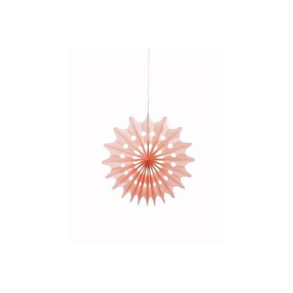 Papierová dekorácia Fan Sorbet, 3 kusy