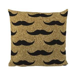Vankúš Black Shake Set of Moustaches, 50 x 50 cm