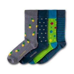 Sada 4 ponožiek Black&Parker London Trelissick Garden, veľkosť 37 – 43