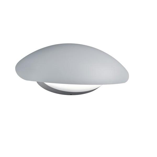 Záhradné nástenné svetlo Missouri White, 26 cm
