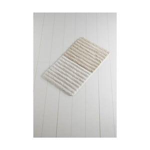 Svetlobéžová kúpeľňová predložka Confetti Bathmats Soft Rock, 60 x 100 cm