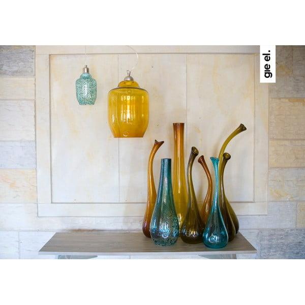 Labutia váza 70-80 cm, medová z bistra U Kubistu