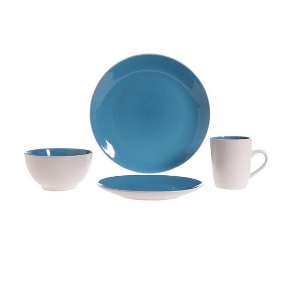 Servírovací riad Lucca Blue, 16 ks