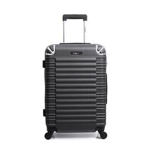 Čierny cestovný kufor na kolieskach Blue Star Lima, 60 l