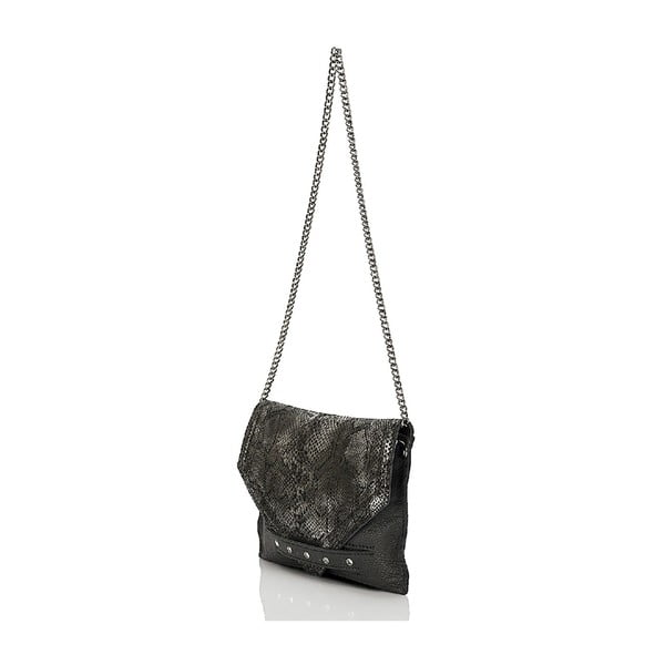 Kožená kabelka Giorgio Costa 15003 Black
