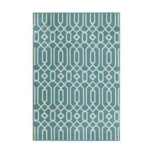 Svetlomodrý koberec Nourison Baja Talara, 290×201cm