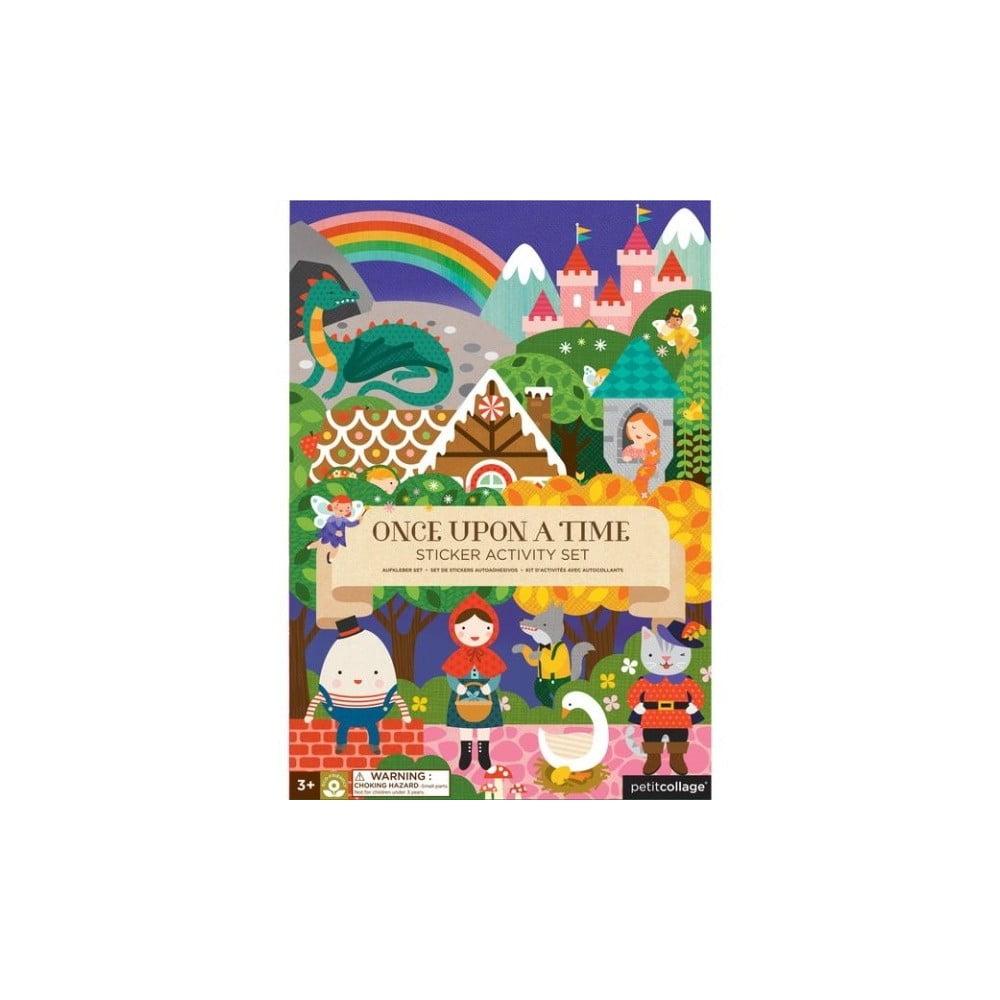 Skladacia doska so samolepkami Petit collage Fairy Tales