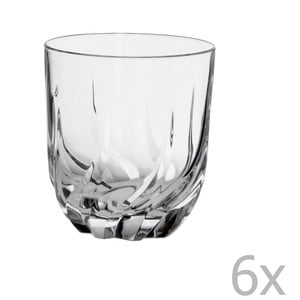 Sada 6 pohárov na whisky Crystal Bettina