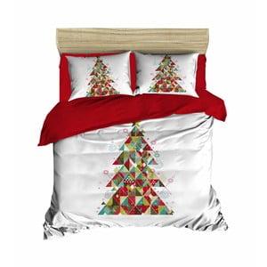 Sada obliečky a plachty na dvojposteľ Christmas Tree Small, 200×220 cm