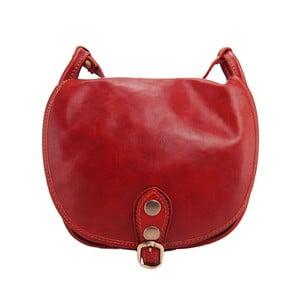 Kožená kabelka Amarette Rosso