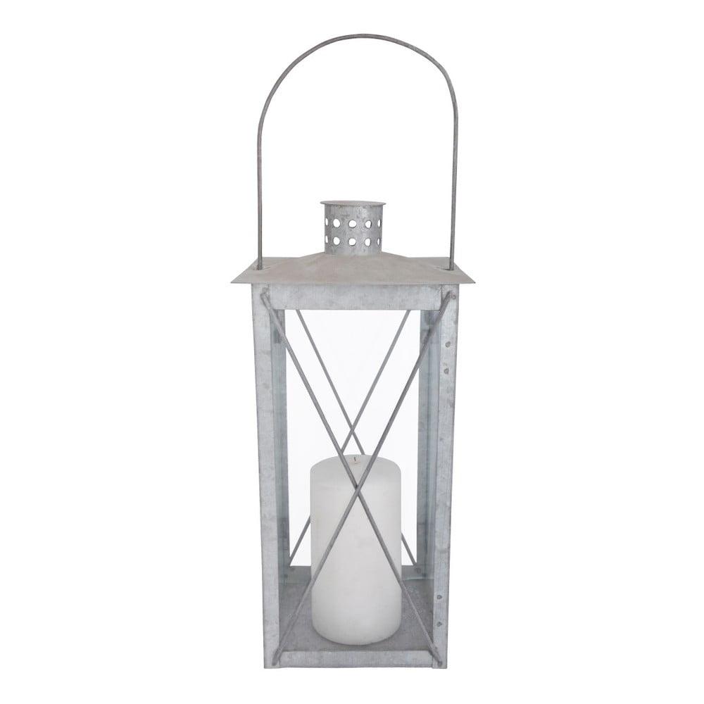 Vonkajší kovový lampáš Esschert Design, výška 36,5 cm