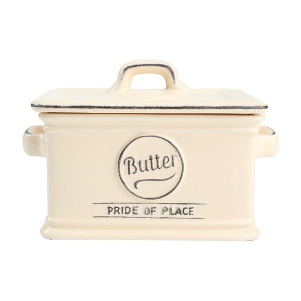 Krémová keramická nádoba na maslo T&GWoodware Pride of Place