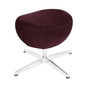 Vínovočervená otočná stolička/podnožka My Pop Design Vostell