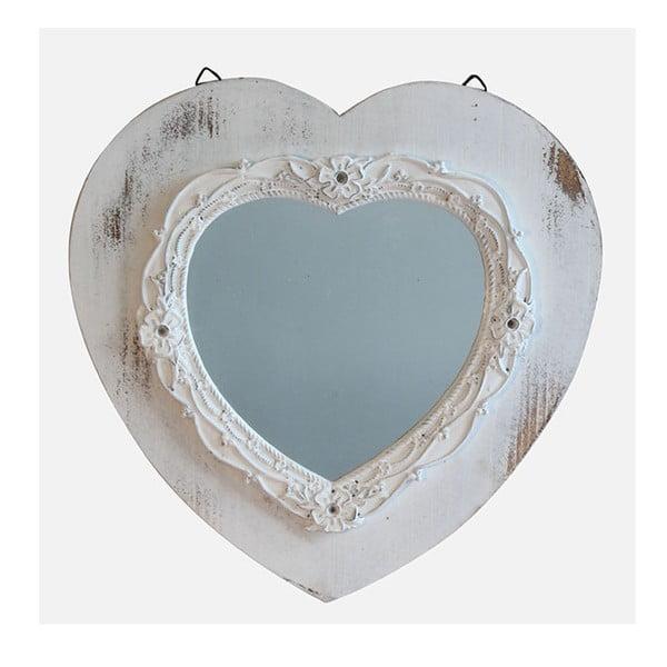 Zrkadlo White Days, 39x39 cm