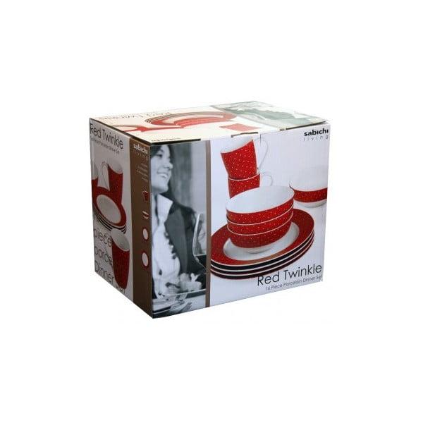 Porcelánový set Twinkle, 16 ks
