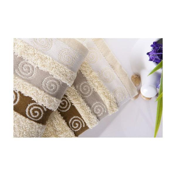 Sada 2 uterákov Truva Cream, 50x90 cm