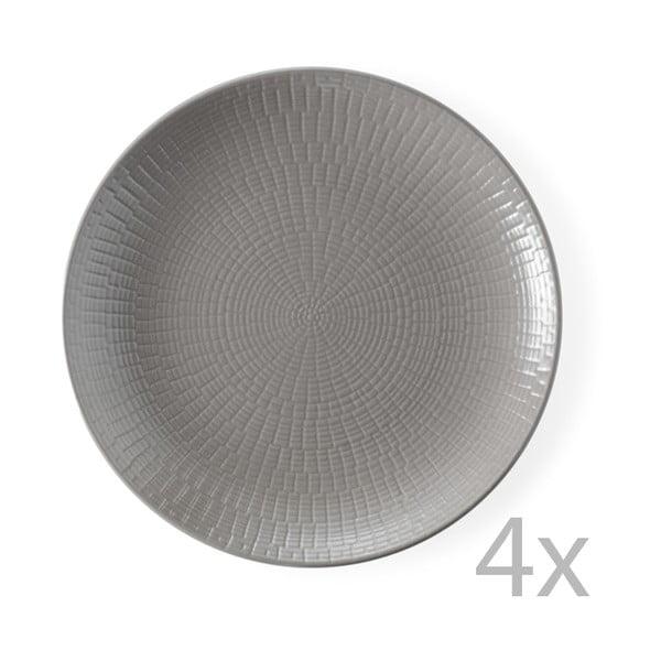 Sada 4 dezertných tanierov Granaglie Tourte, 21 cm