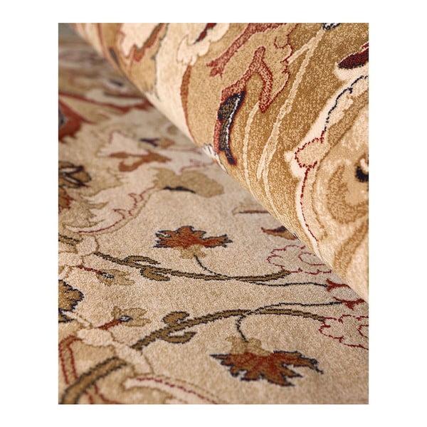 Vlnený koberec Byzan 543 Beige, 140x200 cm
