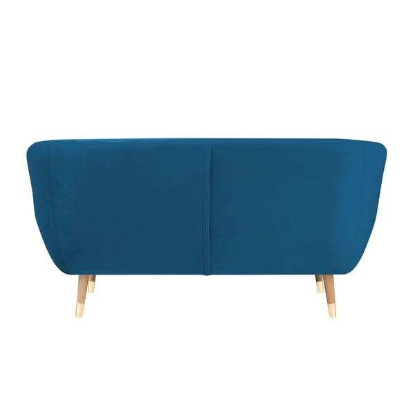 Modrá dvojmiestna pohovka Mazzini Sofas Benito