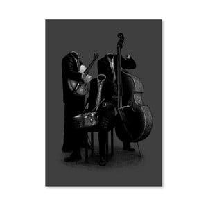 Plagát Les Invisibles od Florenta Bodart, 30x42 cm