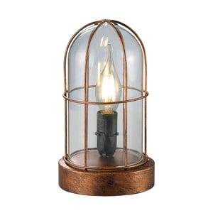 Stolová lampa Birte, medená