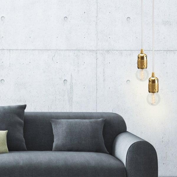 Závesný kábel Uno, zlatá/biela/zlatá