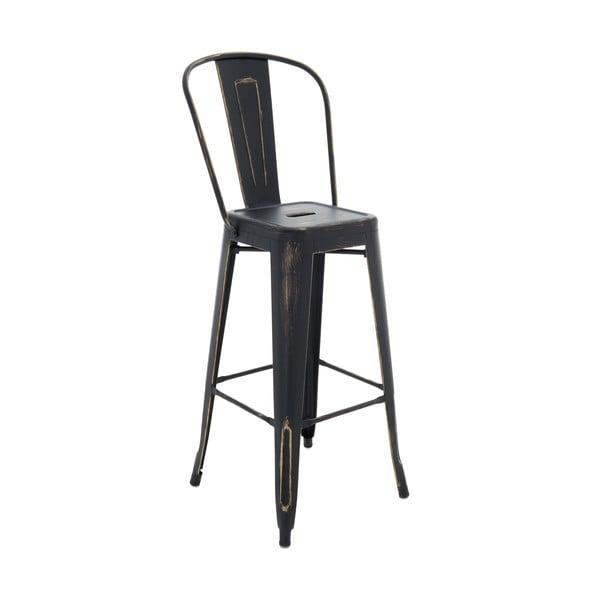 Stolička InArt Antique, čierna, 115 cm