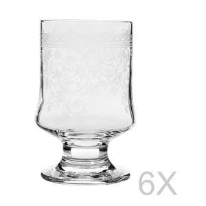 Sada 6 pohárov Mezzo Arya Lace, 310 ml