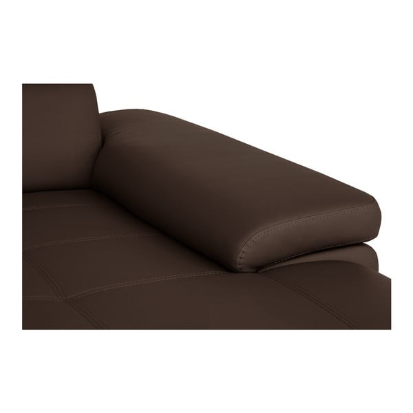 Čokoládovo hnedá pohovka Modernist Parure