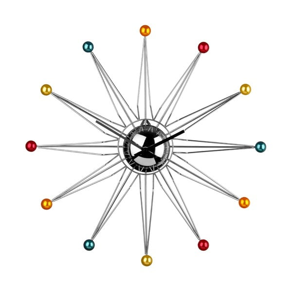 Nástenné hodiny Hot Balls, 50 cm