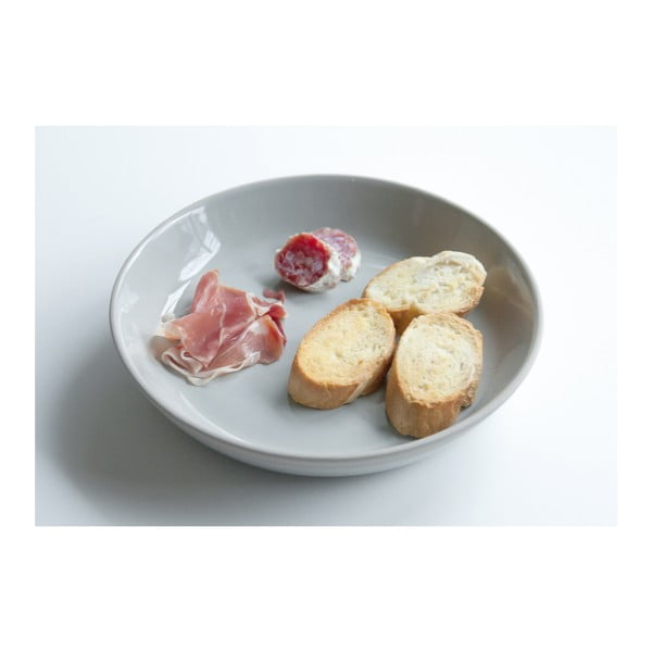 Sivý tanier PT LIVING Brisk, ⌀23,5cm