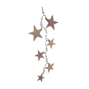 Girlanda Stars Frosted