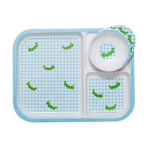 Detská tácka s miskou Caterpillar